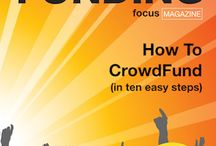 CrowdFunding Focus Magazine / Front covers of our various CrowdFunding Focus magazine issues.
