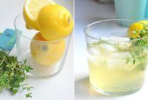 sirupy limonády zavařeniny