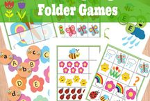 file folder games / by Steph Wakeem