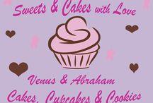 Sweets & Cakes whit Love Venus & Abraham / Nos dedicamos a la elaboración de tortas,  galletas con diseños festivos y cupcakes con relleno, decorados en fondant. También elaboramos tortas frías. Elaboramos las tortas ya sea de 1,2 y 3 pisos.Para cotizaciones escribanos a venusyabraham@gmail.com