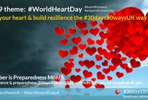 #WorldHeartDay | power your heart, build resilience through preparedness / Check out these inspiring FREE UK RESOURCES. Our #30days30waysUK has people and their kind hearts at its core, building personal and community resilience through kindness and volunteering. Find out more about #30days30waysUK by visiting the website at http://30days30waysUK.org.UK