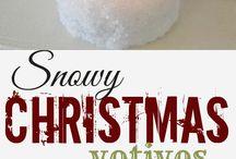 * Christmassy *