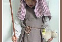 homemade nativity costume