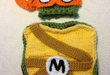 Halloween Costumes / Crocheted Halloween Costumes
