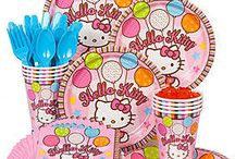 Hello Kitty Party Theme / The cutest kid around should celebrate with the cutest kitty. Hello Kitty party supplies and party ideas are found right here!