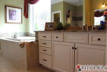 Bathrooms / by Cabinets.com by Kitchen Resource Direct