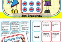 Vocabulary / by Heather Adams
