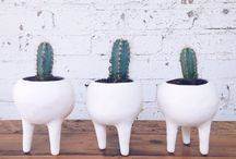 Ceramic planters and vases