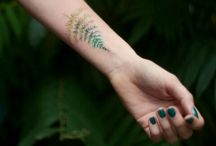Tattoos with plants