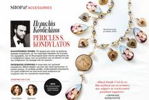 """""""Black Death"""" collection featured @ Instyle Magazine Feb. 2014 / """"Black Death"""" collection featured @ Instyle Magazine Feb. 2014 Instyle Magazine # 05 Feb. 2014 By Christna Katsaouni & Mirela Alexiou """"Black Death"""" Collection by Pericles Kondylatos Available to buy on-line @ Etsy e-shop: https://www.etsy.com/shop/PericlesKondylatos """"Black Death – Gypsy Cult"""" A jewelry collection - Homage to Goth & Gypsy culture."""