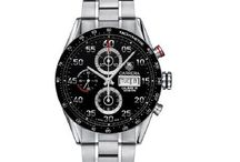 TAG Heuer Carrera / In 1963, Jack W. Heuer, worked on a new chronograph designed for drivers & motor racing enthusiasts. As a life-long fan of the sport, he knew what was needed: a wide-open, easy-to-read dial and a shock-resistant & waterproof case tough enough for any driver to wear. The next year he launched a mechanical, manual-wound chronograph called the Carrera. Named after 'Carrera Pan Americana', a 5 day, 3,300 kilometres race across Mexico. The most prestigious, & dangerous, endurance race of its day. / by Watch fan Watches.com