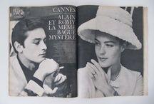 Photos de stars sur magazine des années 60