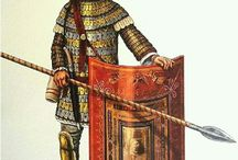 Roman legionaries third century AD