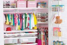 Begehbarer Kleiderschrank für Kinder