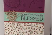 Stampin up Paisley and posies