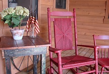 Ideas for the guest/bunkhouse / Loads of ideas for remodeling the bunkhouse! My dream is to do it in my eclectic style of a Norwegian farmhouse OR a real cowboy bunkhouse / by Country-girl-at-heart