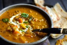 Spiced indian lentil soup