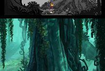 Animation and visual development