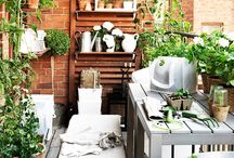 Balkong och hem inspiration