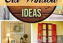 Repurposed old window ideas