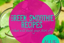 Green Smoothies / by Onyx Rose