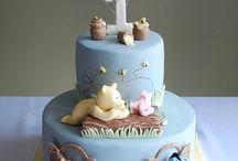 Sophie's christening cake