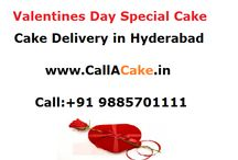 Valentines Day Special-Cake delivery in Hyderabad
