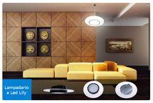 Soluzioni di illuminazione / Non sai come illuminare il salotto o l'ufficio? Cerchi un'idea per il tuo negozio o la tua azienda? Questa proposte fanno al caso tuo!