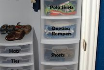 Kids Cupboard Organisation