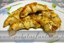 Antipasti di Patate e fantasia / Ricette di antipasti di patate