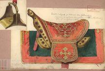 Saddle, siodła bojowe