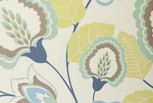 Fabrics for new kitchen and dining
