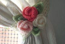 cortinas flor