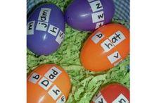 """רעיון השלמת משפט או מילה ע""""י ביצה"""