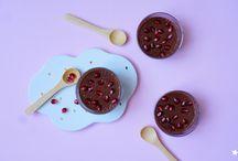 Les jolis desserts / Desserts souvent vegan, souvent sans gluten, des créations originales et colorées pour se régaler!