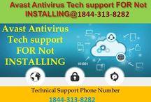 Avast Antivirus Tech Support Phone Number-1844-313-8282