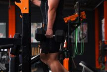 Strength Training Exercises in the Gym / These are exercises performed in the gym using mostly free weights and some machines exercising major and minor muscles.