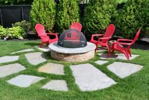 Stone and Brick  Firepits