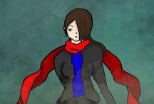 Akena Kasaki / Moje vymyšlená postava do budoucí mangy (která někdy bude...)