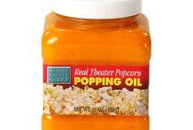 Nos Huiles de cuisson / Pour un popcorn maison réussi, les huiles de cuisson sont indispensables ! Retrouvez ici notre sélection d'huiles pour préparer votre popcorn à la casserole!