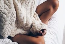 Cozy sweaters in bed pic