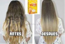 mantener el cabello