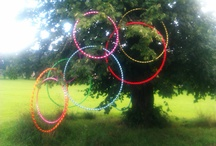 twisted pixies / Face painting and hula hoops