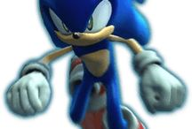 Sonic the Hedgehog 2006 / Official Artwork from Sonic the Hedgehog 2006 re-make featuring images of Sonic in various poses.  More information on this game at http://sonicscene.net/sonic-the-hedgehog-2006