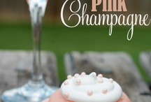 Spring Bridal Shower / Pink, gold and glam; inspiration for a beautiful spring bridal shower