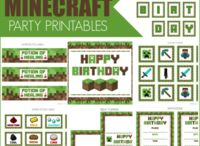 Minecraft birthday ideas..... / by Shone Whiteside