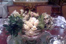 Decoración floral de boda