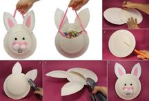Easter Crafts for Kids / Get crafty at Easter - great for creative activities with the kids over the holidays.