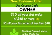 IHerb coupon code OWI469 / Use iHerb coupon code  OWI469 or click here http://bit.ly/KODIHERB  $10 off your first order of $40 or more OR $5 off your first order of less than $40