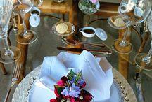 mesas e decoracao
